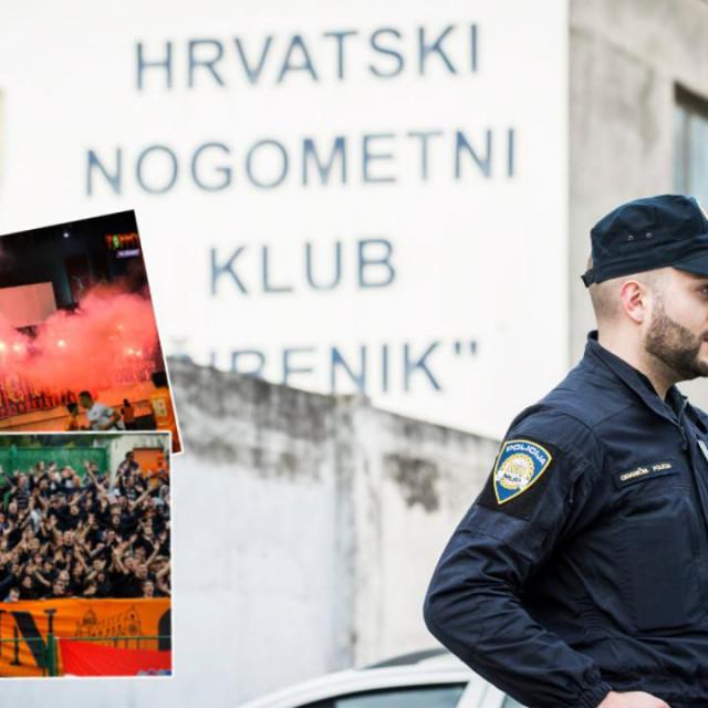 Policija je susret Šibenika i Hajduka proglasila utakmicom visokog rizika