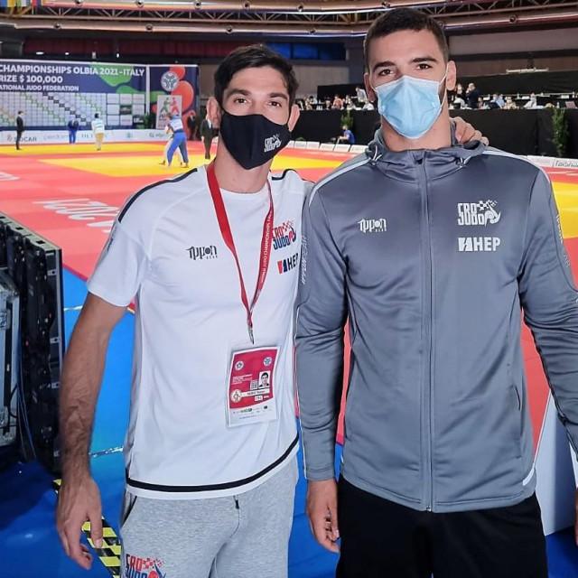 Mateo Semiz i Josip Bulić na Svjetskom prvenstvu u Olibi, talijanskom gradu na Sardiniji