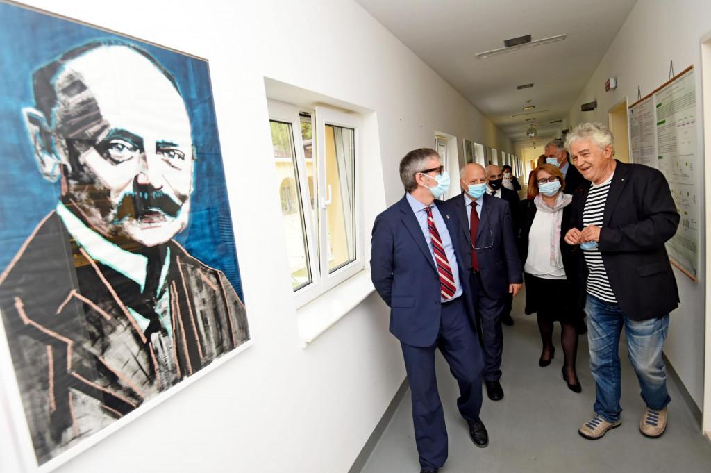 Rektor Dragan Ljutić i naš proslavljeni biolog Miroslav Radman ugostili su na institutu 'Medils' skupinu rektora europskih sveučilišta iz SEA-EU alijanse