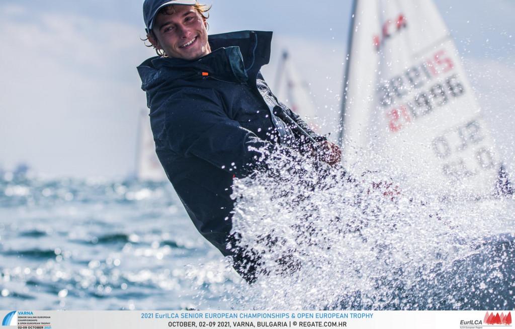 Alec Cvinar na Europskom seniorskom prvenstvu u bugarskoj Varni