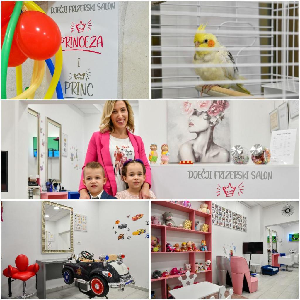 Dječji frizerski salon Love u DOC-u