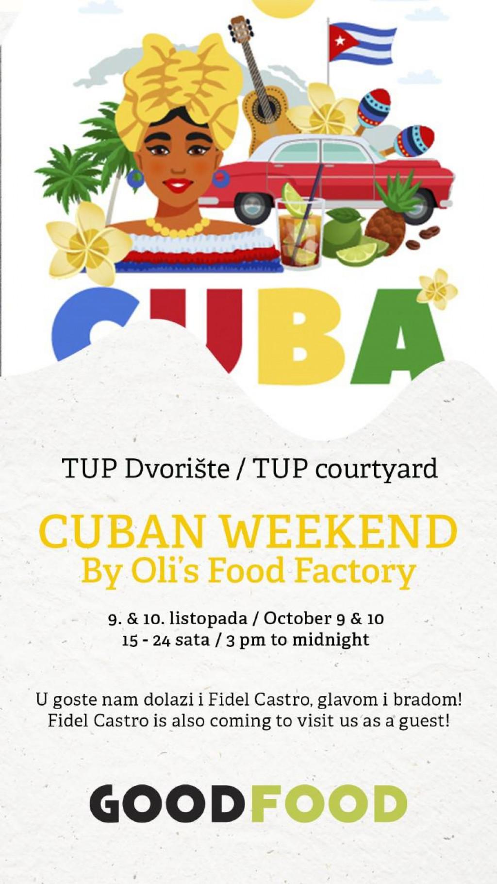 Osmo izdanje Good Food Festivala završava Cubano vikendom