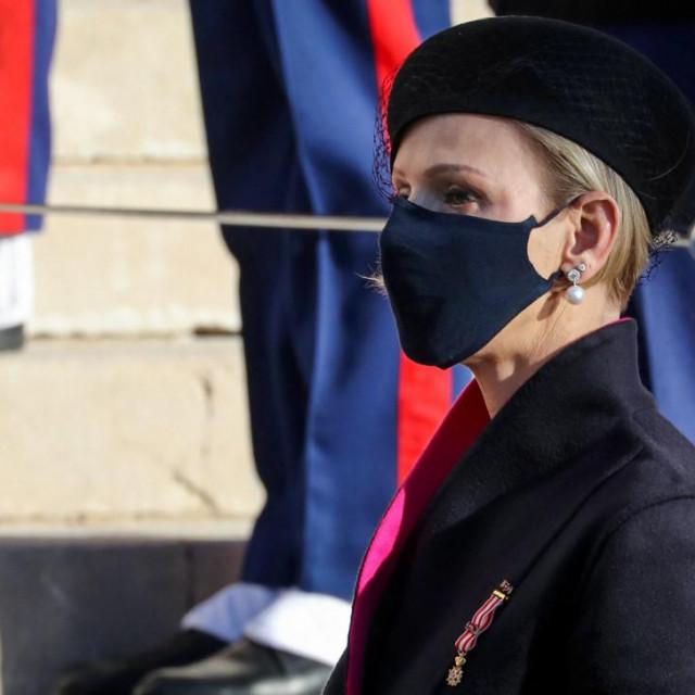 Princeza Charlene od Monaka 19. studenoga 2020 u Monaku<br />