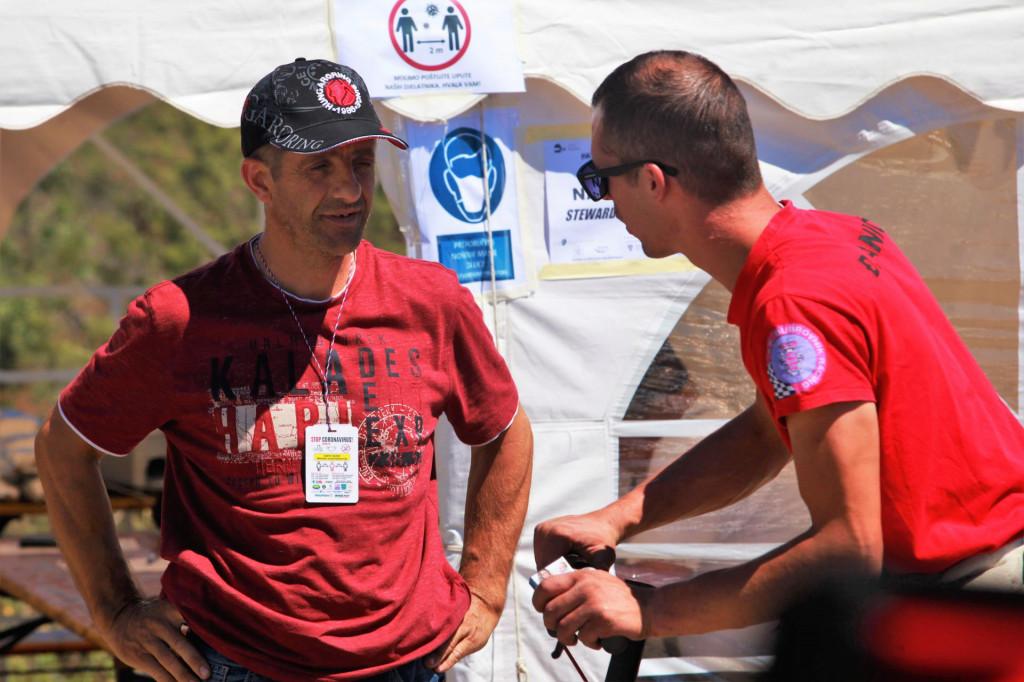 Mirko Pendo i Maroje Batina, dvojac Dubrovnik Racinga, zadnjih nekoliko tjedana proveli su na novoj stazi kako bi sve bilo spremno za 21. Nagradu Dubrovnika - Memorijal Željko Đuratović