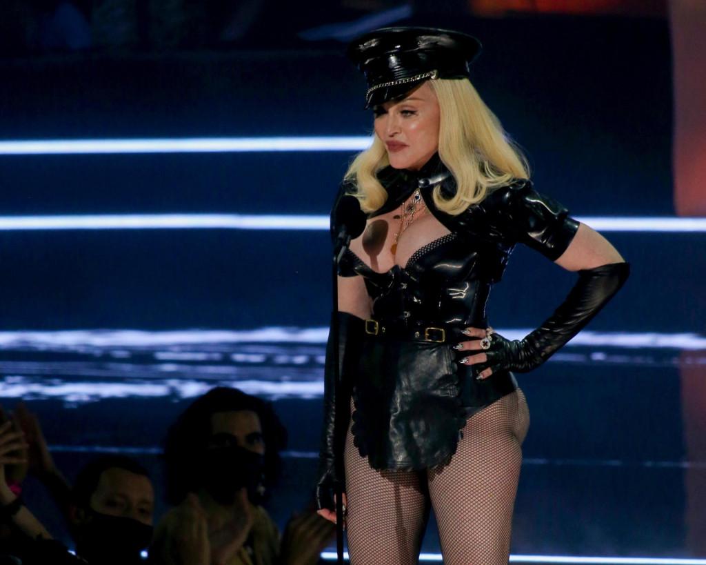 Madonna ove godine u New Yorku za vrijeme MTV Video Music Awards