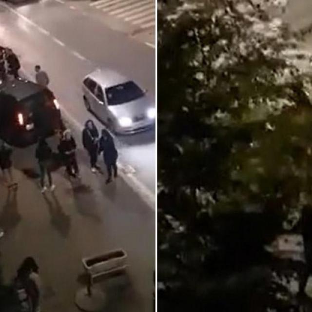 Troje uhićenih zbog masovne tučnjave u Kninu