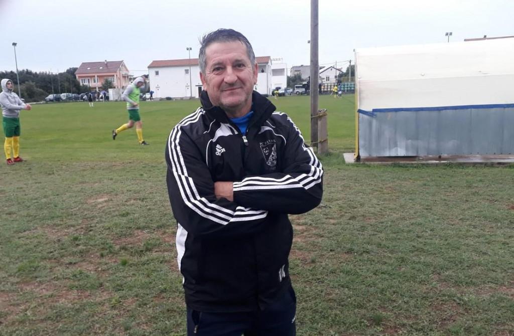 Marijan Lamešić, trener Polače