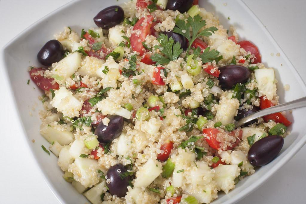 Tabboulek salata od kvinoje odličan je izvor proteina