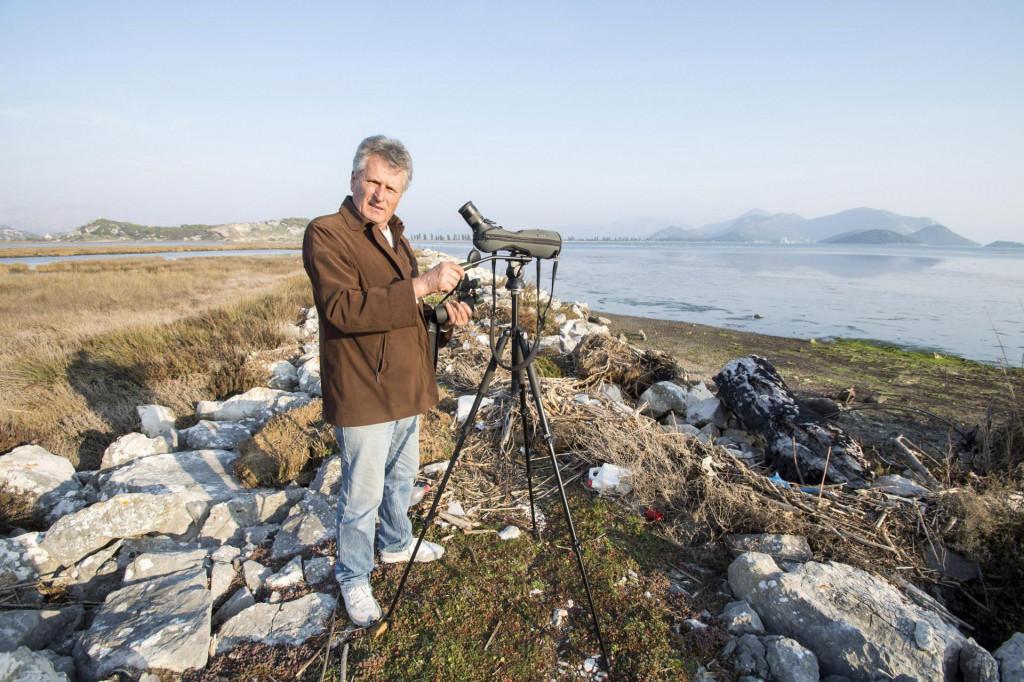 Barisa Ilic ornitolog volonter iz ornitoloskog drustva Brkata sjenica<br />