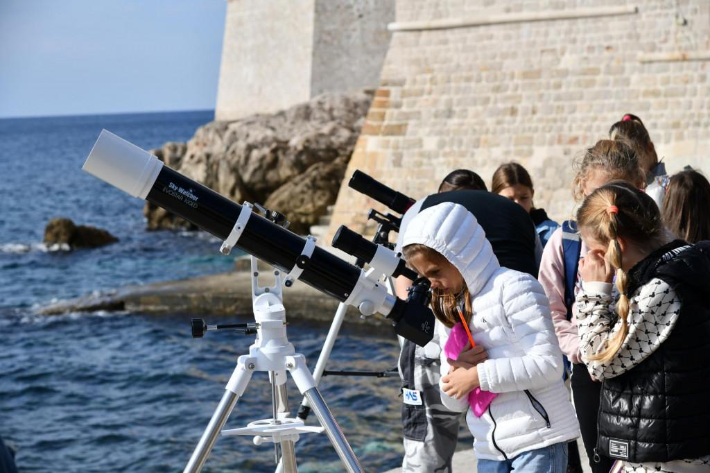 Promatranje Sunca teleskopima sa Porporele