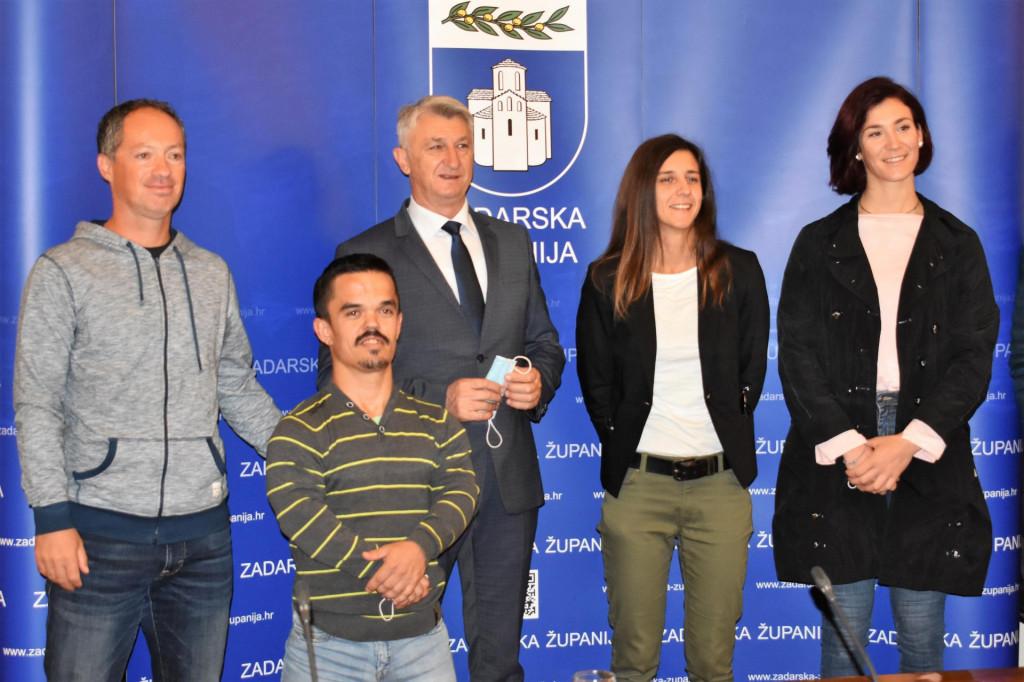 Prijem sportaša u Zadarskoj županiji