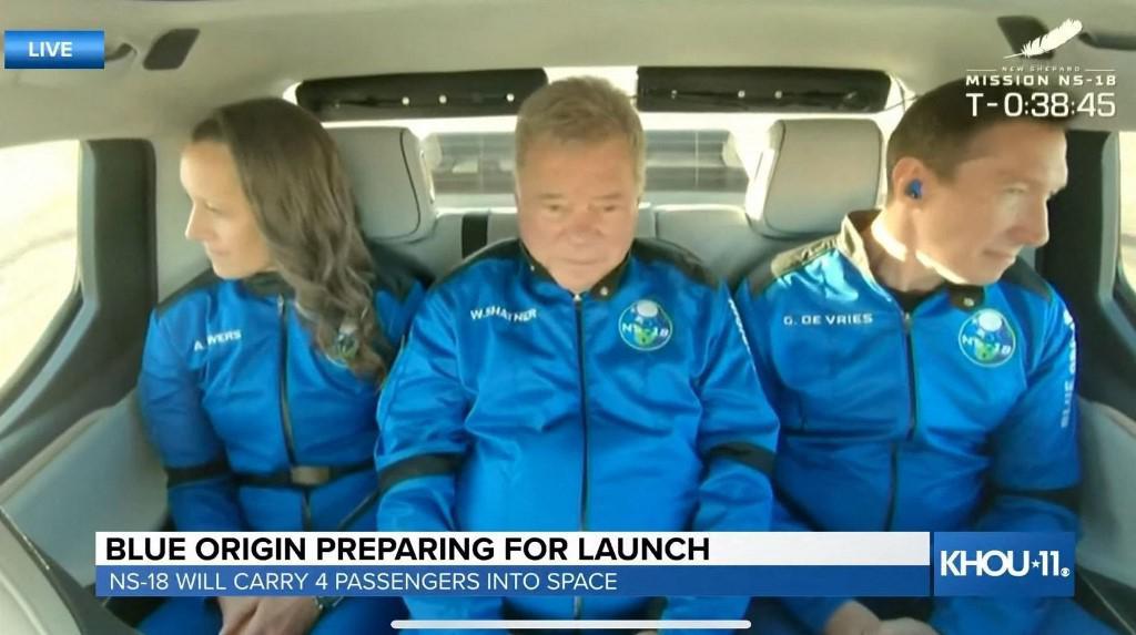 Posada u raketi Blue Origina