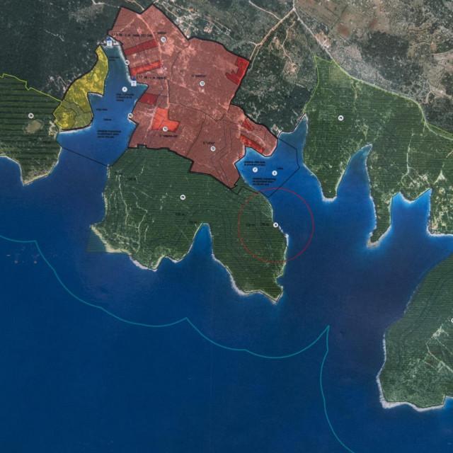 Južna strana otoka Brača, gdje su se odvijale brojne malverzacije sa zemljištima<br />