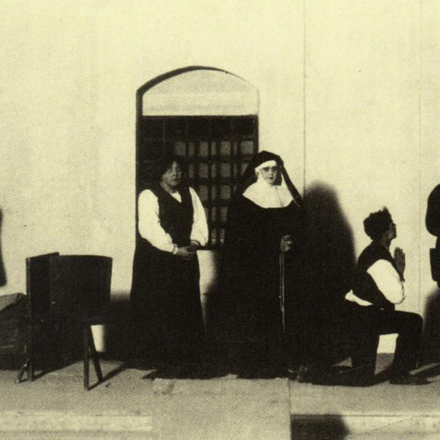 Scena iz drame Bijedna Mara Nike Bartulovića