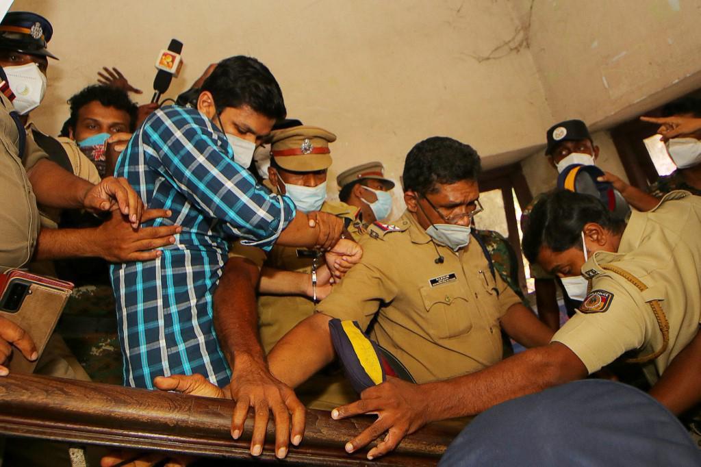 Osuđenik Sooraj Kumar u sudnici