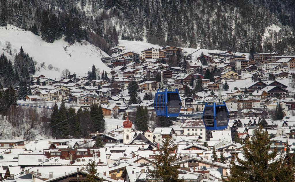 Skijalište St. Anton u pokrajini Arlberg