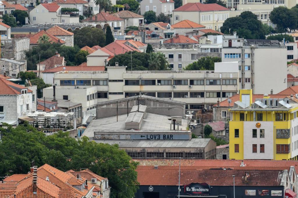 Kompleks zgrada bivše tvornice TUP u Gružu