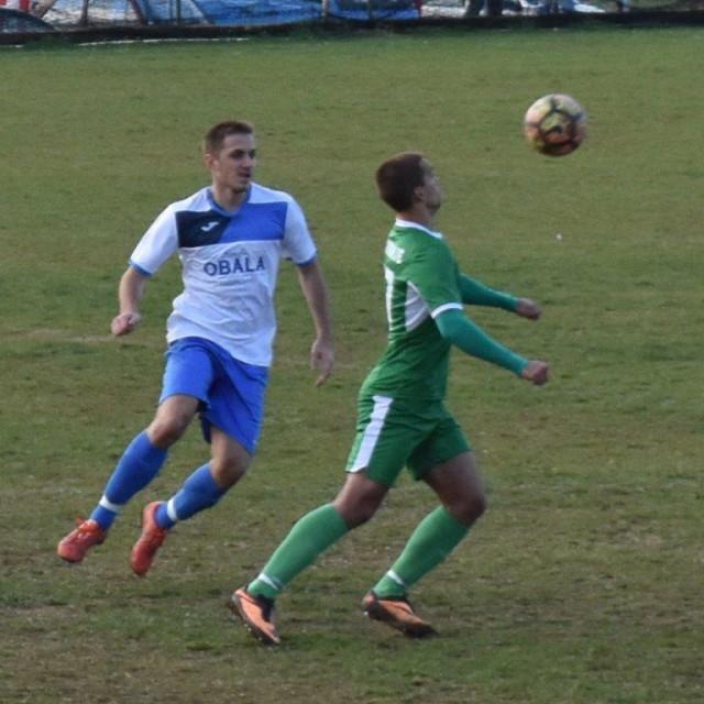 Detalj s utakmice Prve županijske nogometne lige