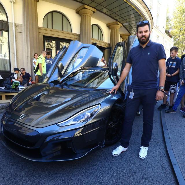 Mate Rimac i njegov automobil Nevera - dobio je dosad najviši iznos sredstava odobrenih za neki projekt