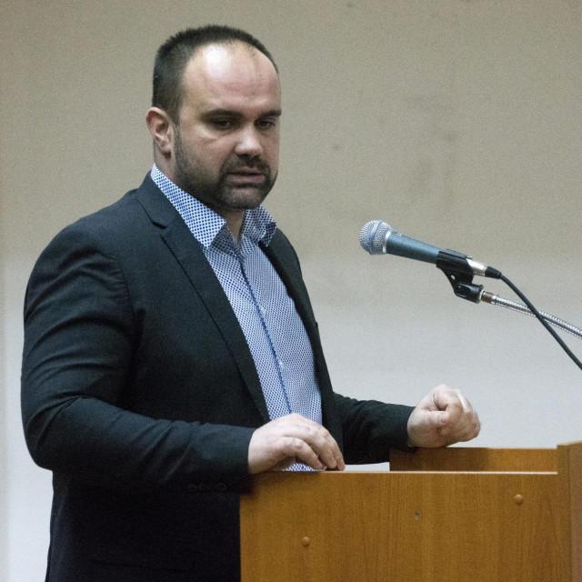 Gradonačelnik Metkovića Dalibor Milan<br />