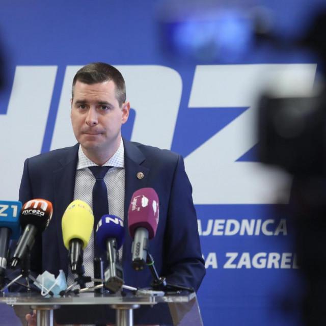 Mislav Herman, HDZ Grada Zagreba