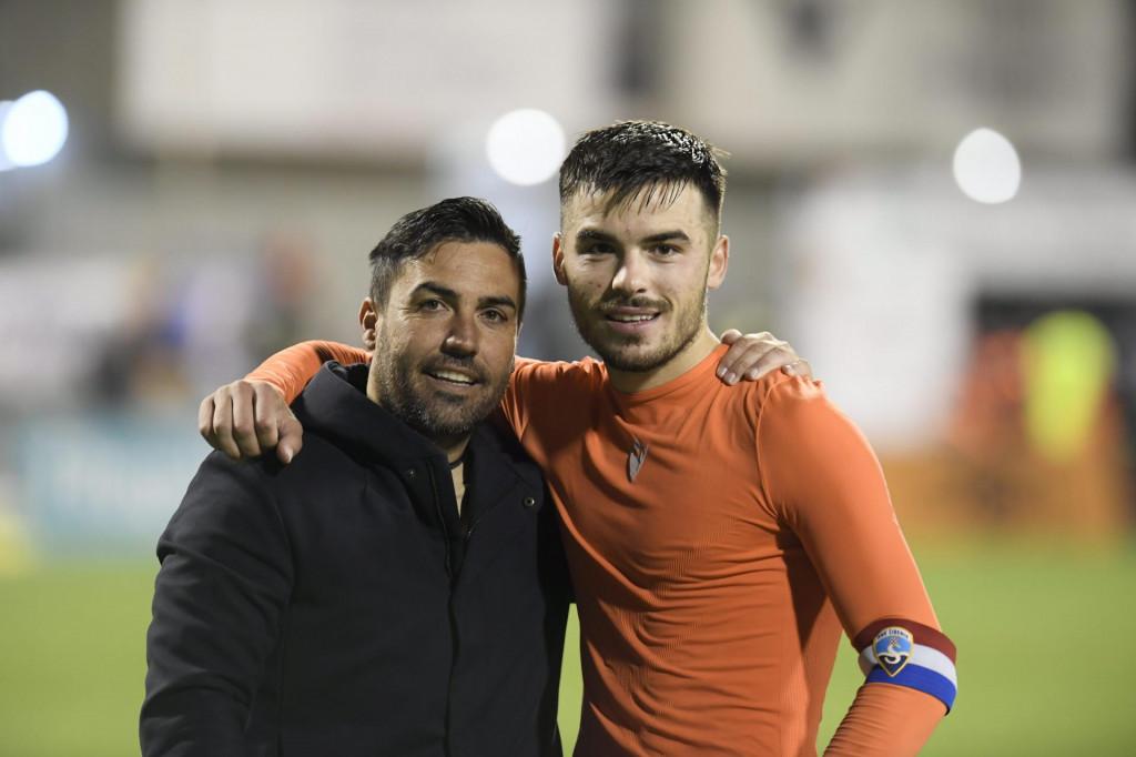 Trener Rosas i kapetan Ćurić