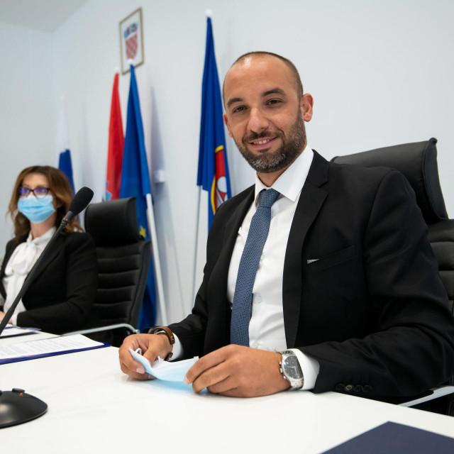 Antonio Vučetić, predsjednik ŽS Zadarske županije