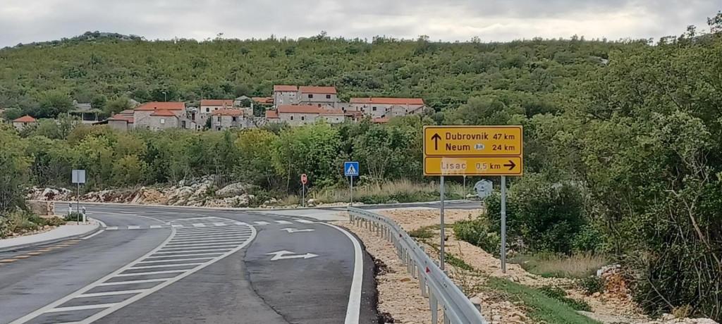 Lisac, cesta Rudine - Čepikuće
