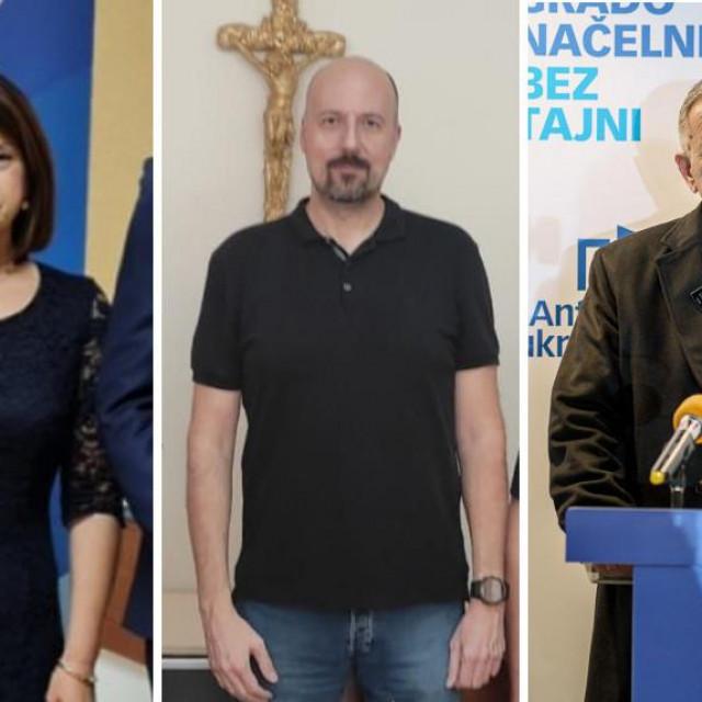 Slijeva na desno: Niveska Vlaić, Robert Marić i Ante Cukrov Desto