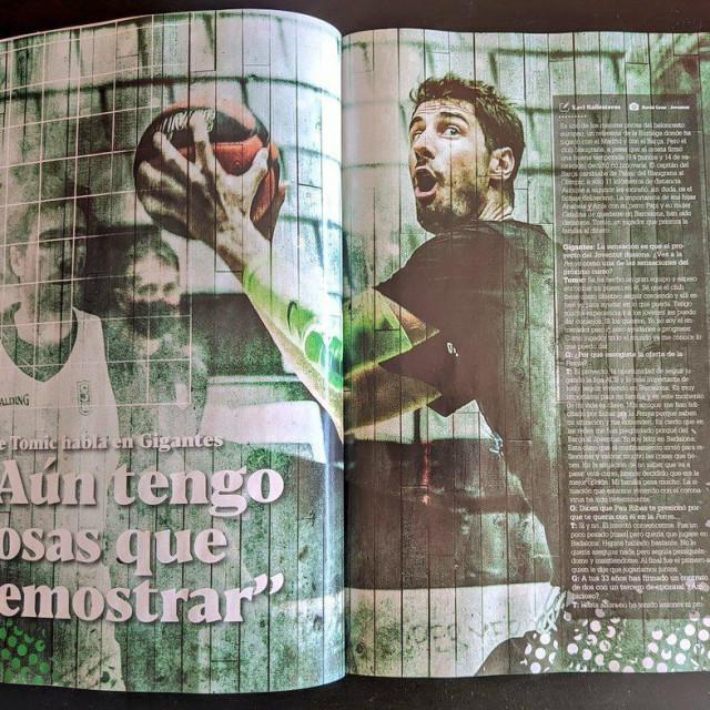 Ante Tomić u velikoj priči u Gigante Basketu
