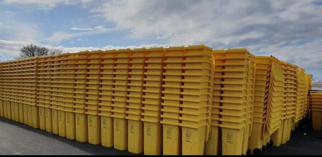 Od srijede počinje podjela žutih kanti za plastični otpad