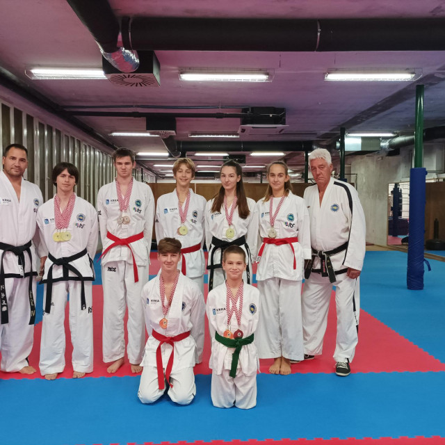 Šibenski Solaris nastupio na prvenstvu Hrvatske u taekwondou