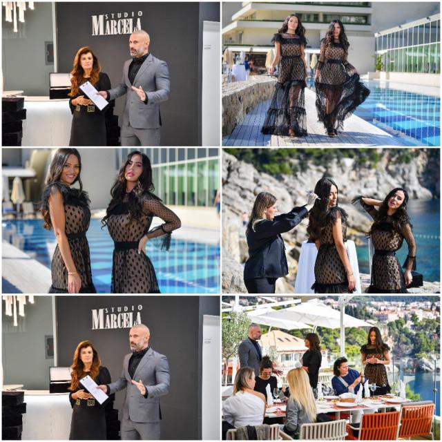 Studio Marcela predstavio je tri nova proizvoda za njegu kose, uz vlasnicu Jadranku Pezo i influencerice Anteu Valent i Deniss Grgić u hotelu Rixos Premium Dubrovnik