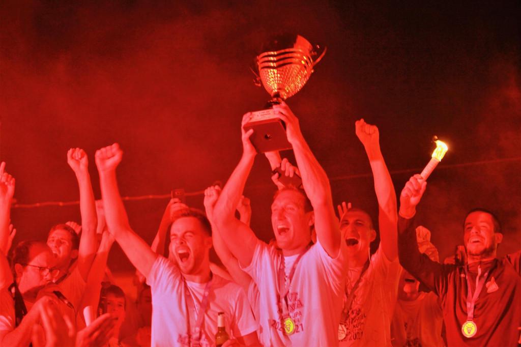 Trenutak za povijest - 12. lipnja 2021. - Neretvanac je u zadnjem kolu dobio Hrvatski vitez kod kuće s 2:0, te je Dino Deak podigao pokal pobjednika Treće HNL - jug u sezoni 2020./21.