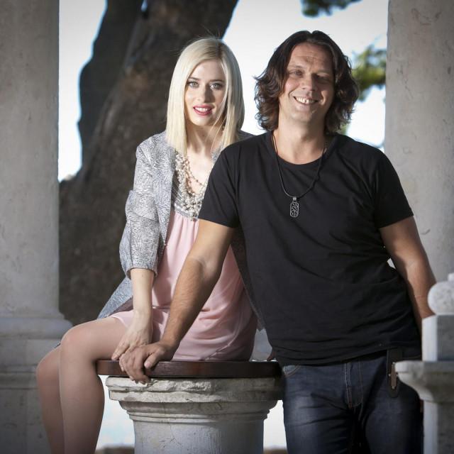Marija Omaljev i Miraj Grbić snimljeni 2012. u Splitu<br /> <br />