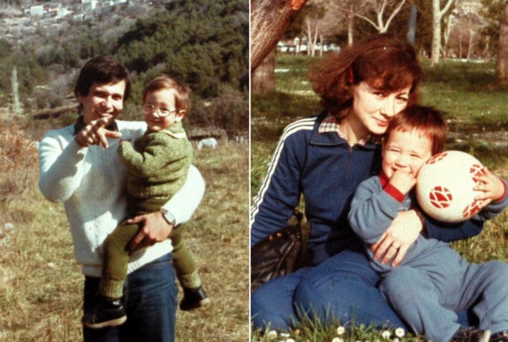 Đorđe i Vesna Gašparević s djecom