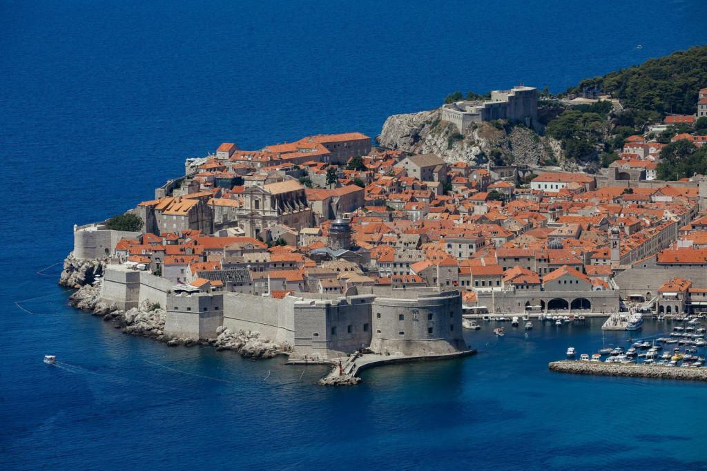 Panoramski pogled na Dubrovnik