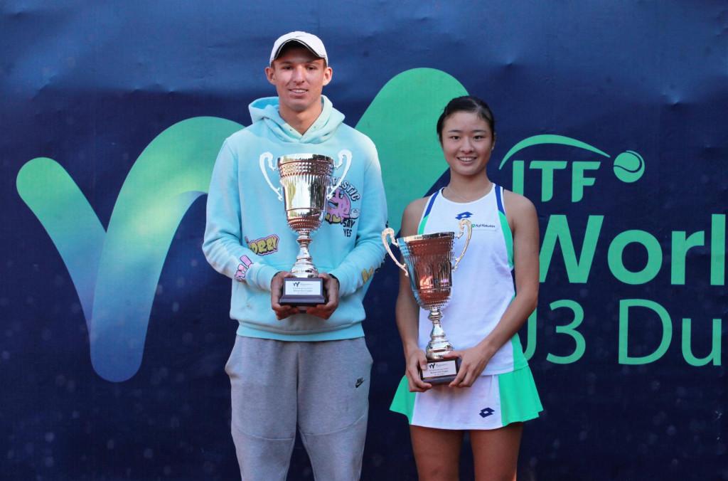 Zlatni na ITF-ovom juniorskom Dubrovnik Cupu - Čeh Jan Hrazdil i Japanka Sara Saito