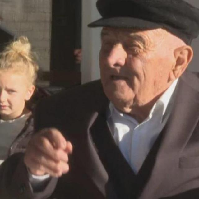 Martin Bilaver, stogodišnjak iz Škabrnje