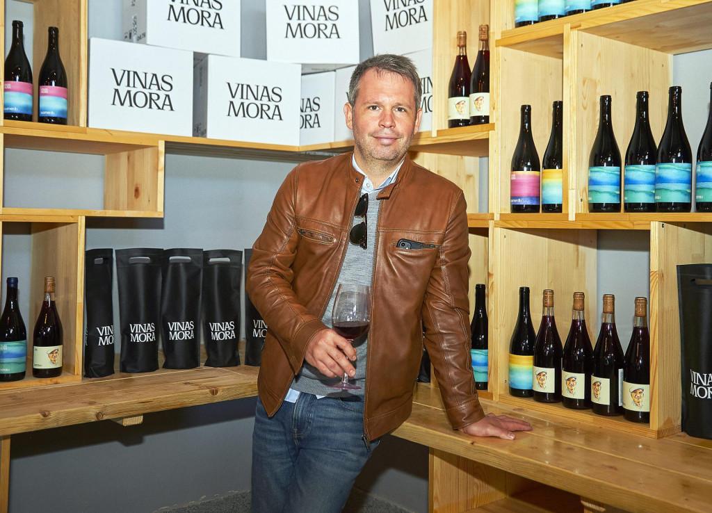 Krešimir Petreković, suvlasnik vinarije.<br />
