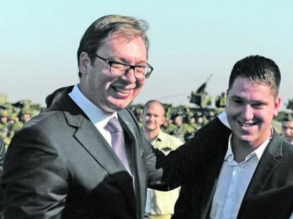 Aleksandar Vučić i sin Danilo