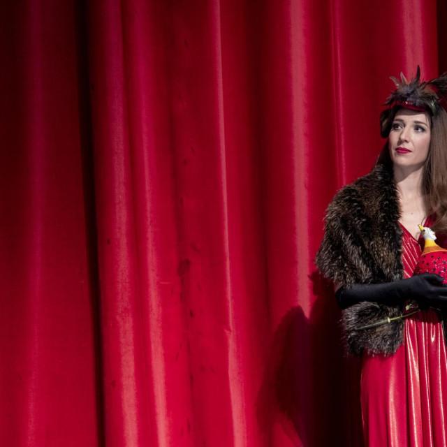 Na fotografiji: nagrađena za najbolje glumačko ostvarenje Dijana Vidušin
