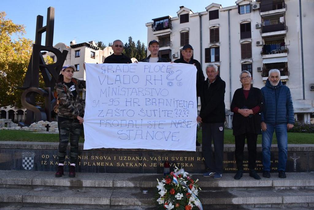 Prosvjed u Pločama