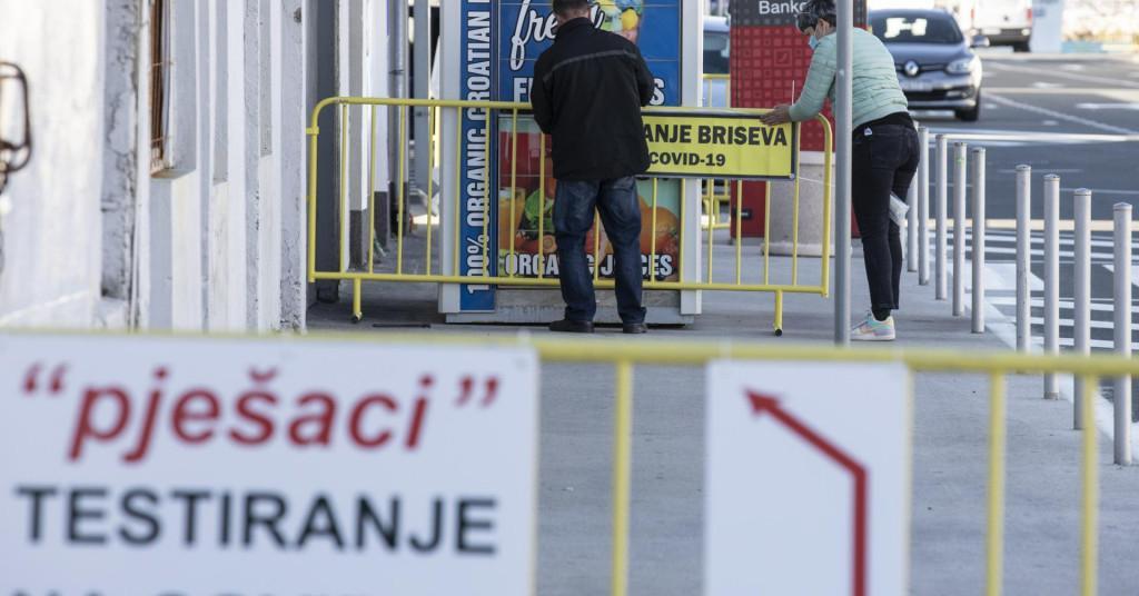 U Hrvatskoj nastavljen veliki rast broja zaraženih koronavirusom
