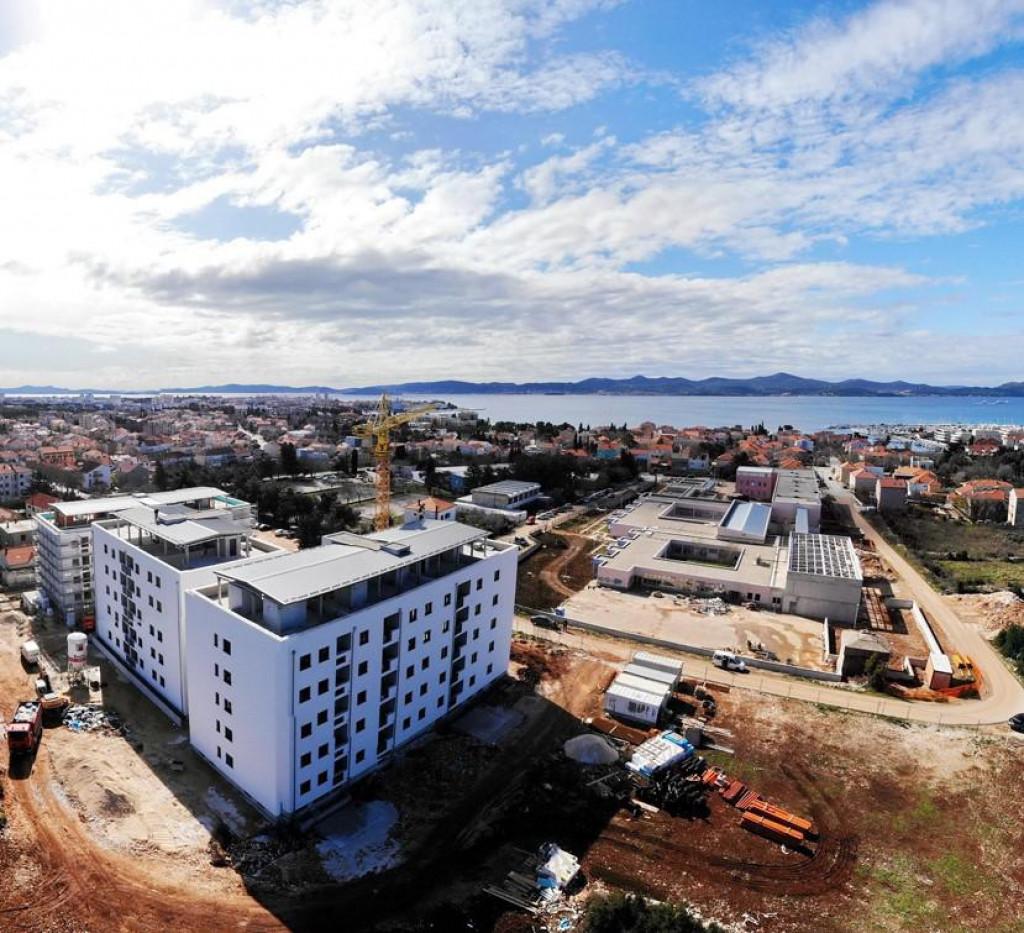 Gradnja zgrada u Zadru je uzela maha